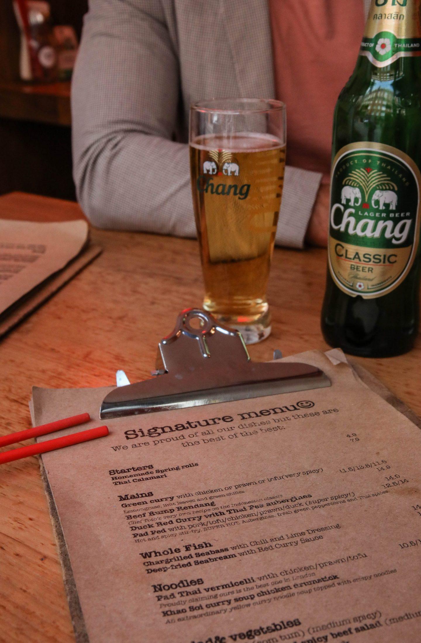Chang Beer Sensory Trails