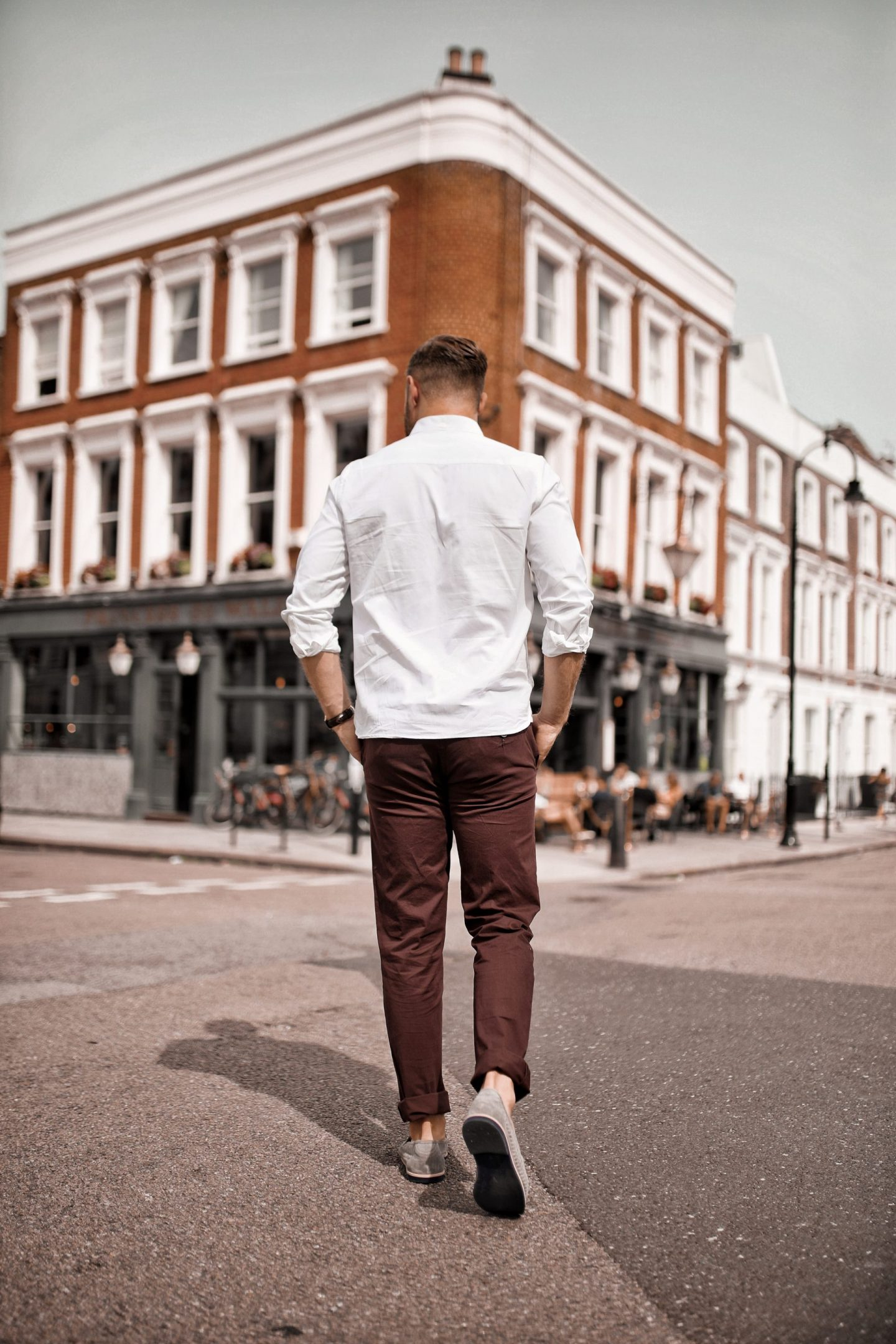 Jacamo Menswear New Spring Summer French Connection Shirt Wine Chinos