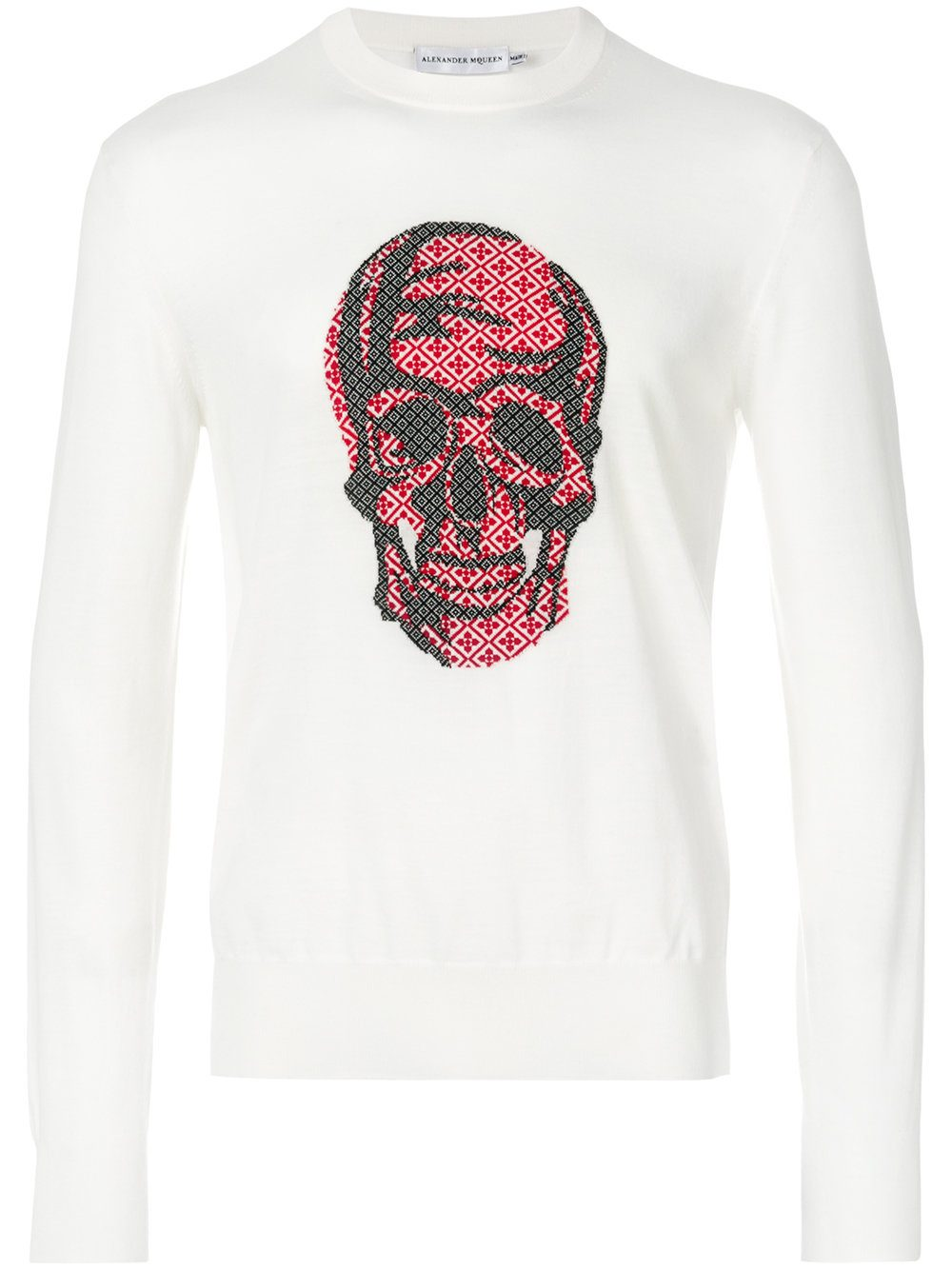 Alexander McQueen Skull Sweater Farfetch