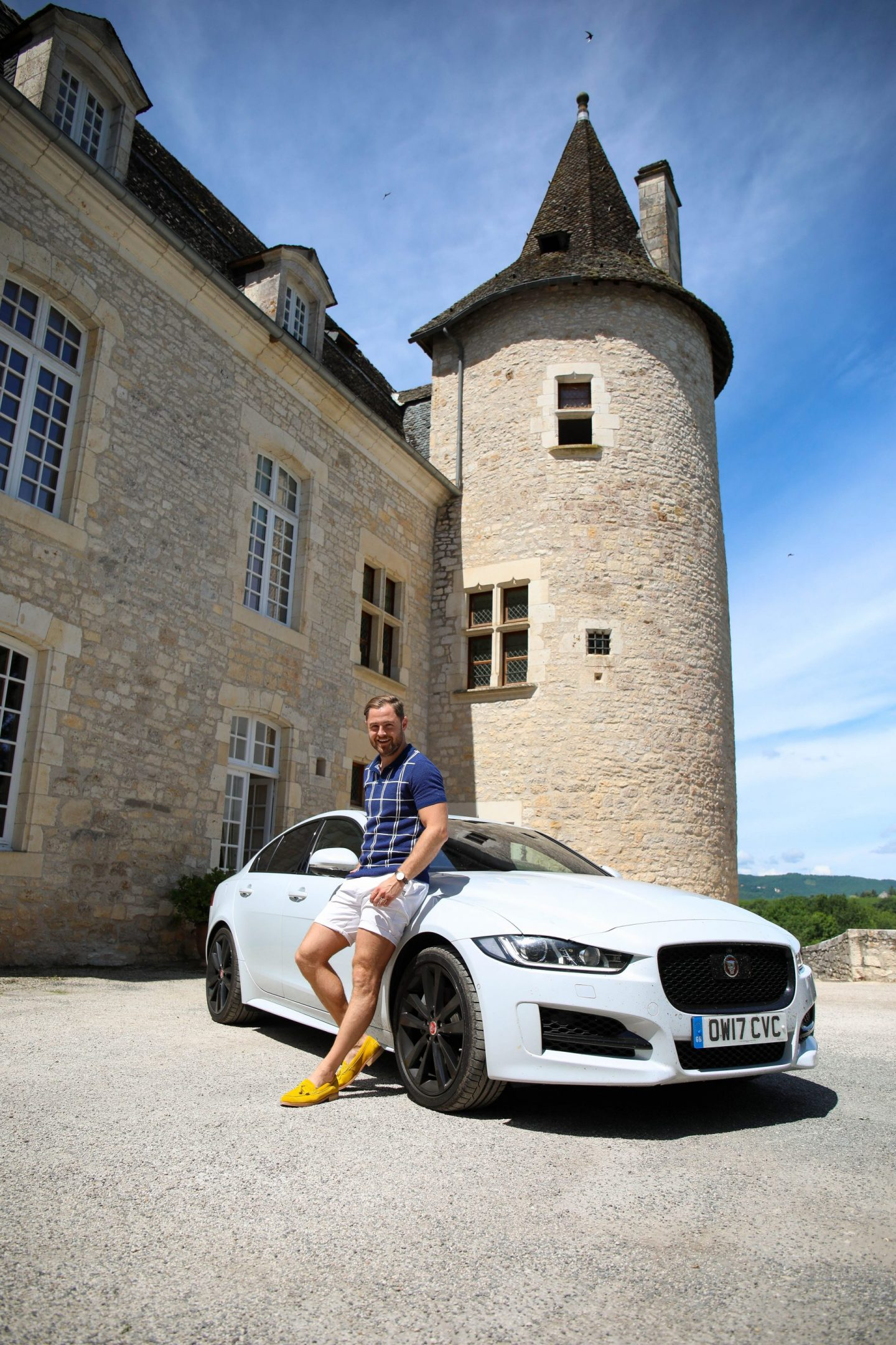 A Road Trip Through France in the Jaguar XE R Sport